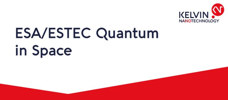 ESA-Quantum-in-space